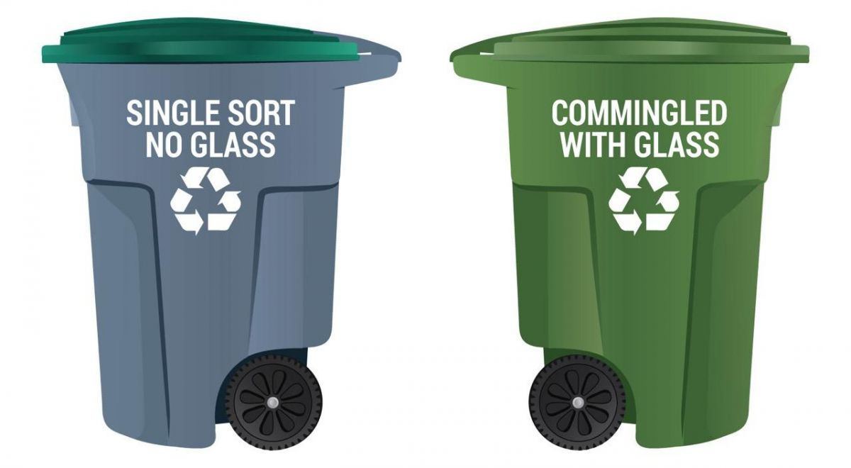 Commercial Recycling Carts